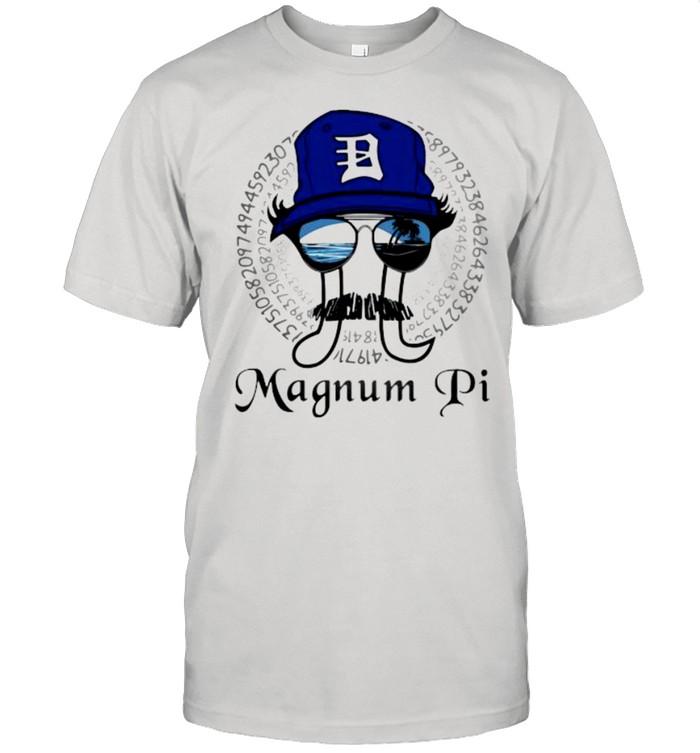 Math teacher magnum pi shirt