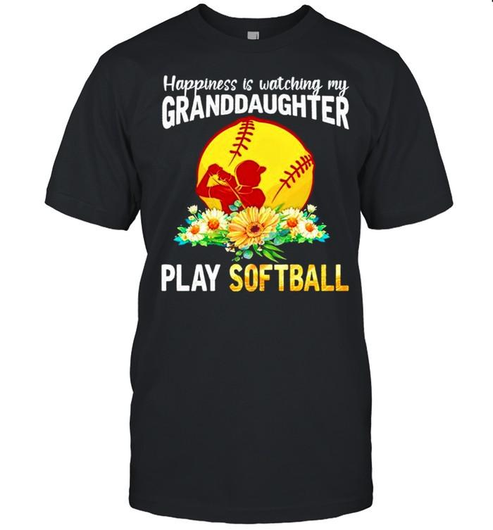 Happiness is watching my Granddaughter play softball shirt