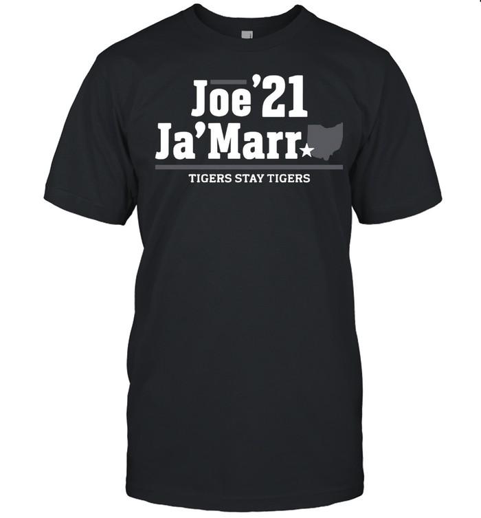 Joe 21 Jamarr Tigers Stay Tigers shirt