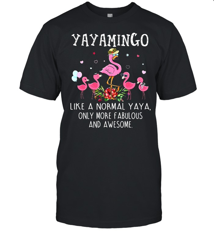 Yaya Mingo Like A Normal Teetee Only More Fabulous And Awesome T-shirt Classic Men's T-shirt