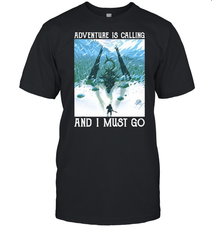 Dragon Adventure Is Calling And I Must Go Vintage T-shirt