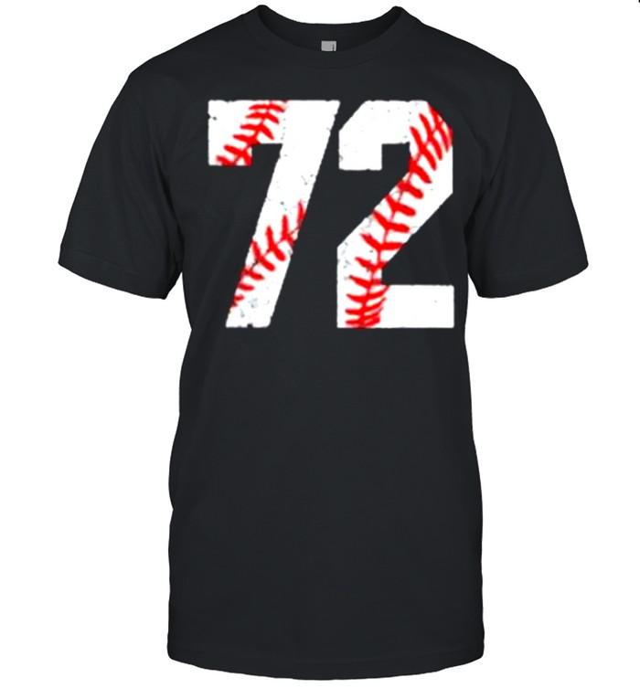 72 Jersey Baseball Favorite Player Vintage shirt