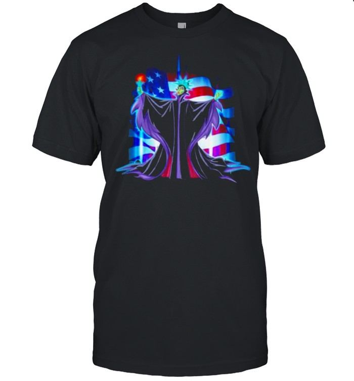 Maleficent 4th Of July Independence  Classic Men's T-shirt