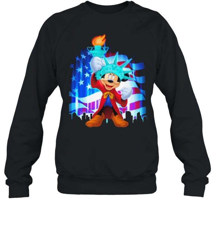 Mickey 4th Of July Independence  Unisex Sweatshirt