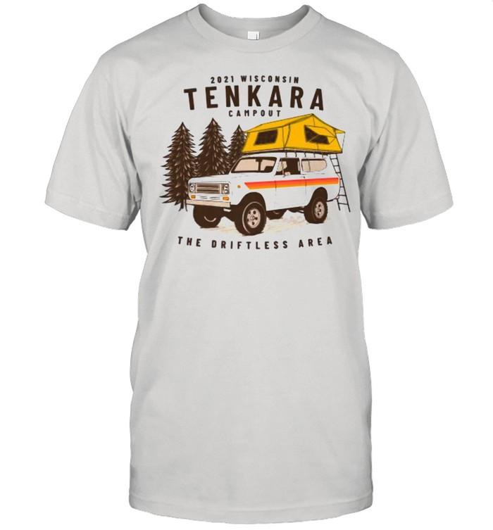 TENKARA ANGLER Wisco Campout The Driftless Area Shirt
