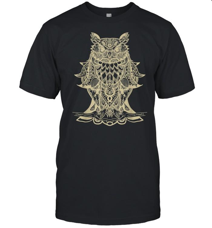 Owl Mandala shirt