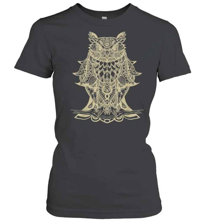 Owl Mandala shirt Classic Women's T-shirt