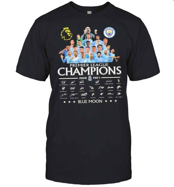 Premier league champions 2020 2021 blue moon shirt Classic Men's T-shirt