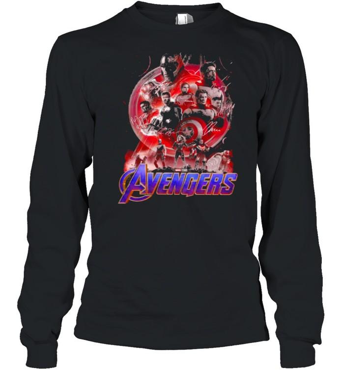 The avengers 4 shirt Long Sleeved T-shirt