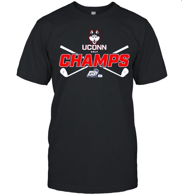 UConn Huskies golf champs shirt