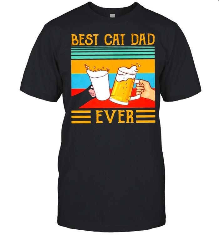 Best Cat Dad Ever vintage shirt