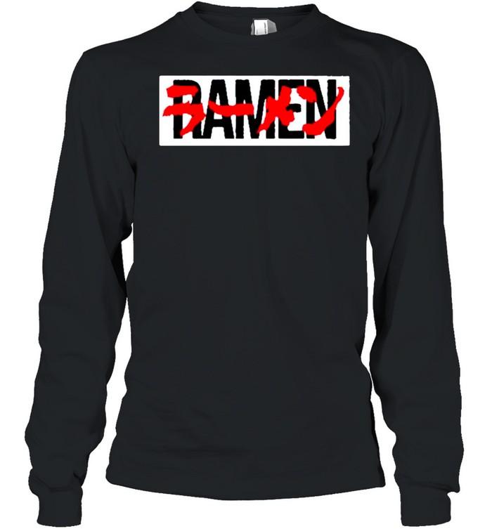 Akira Ramen shirt Long Sleeved T-shirt