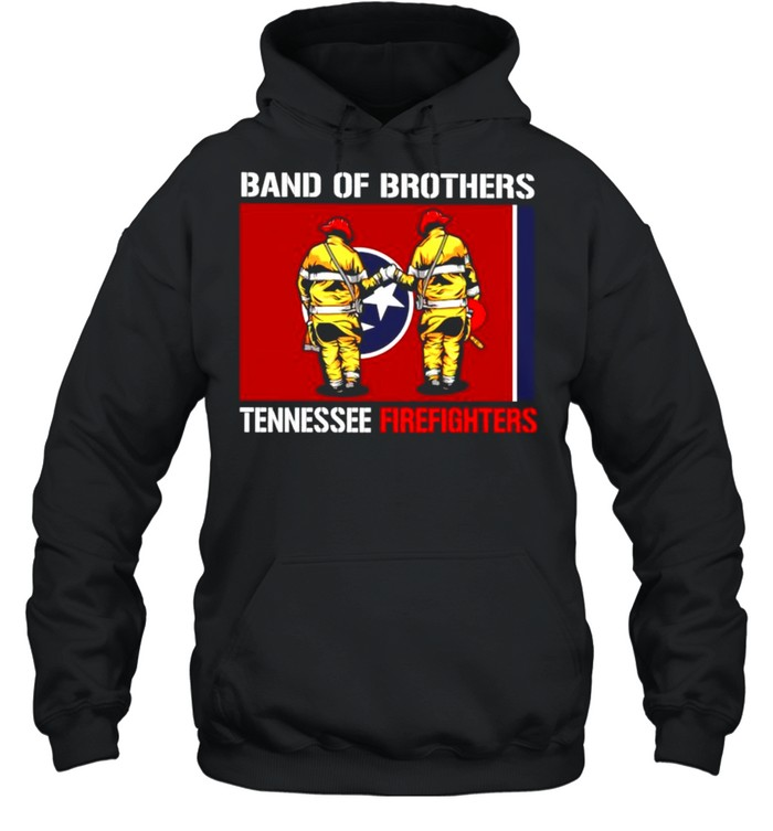 Band of brothers tennessee firefighters shirt Unisex Hoodie