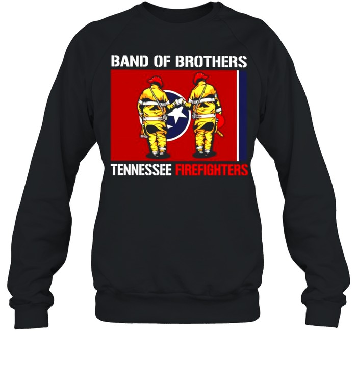 Band of brothers tennessee firefighters shirt Unisex Sweatshirt