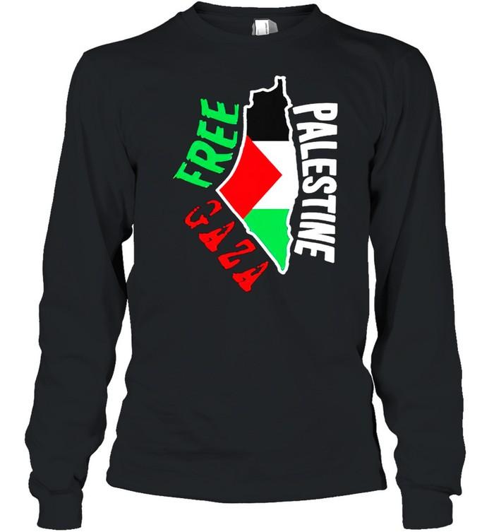 Free palestine gaza shirt Long Sleeved T-shirt