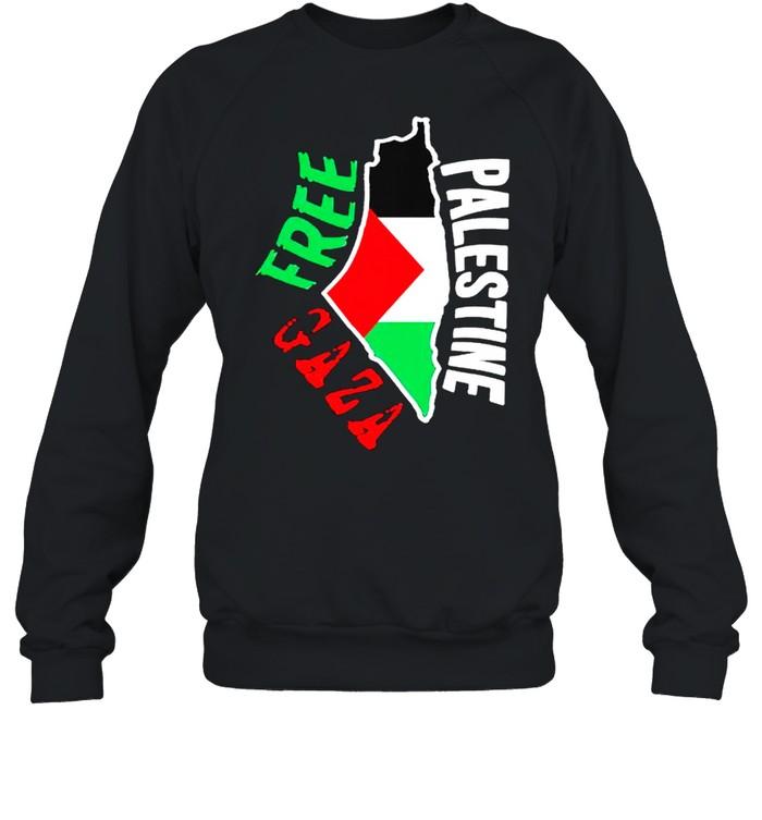 Free palestine gaza shirt Unisex Sweatshirt
