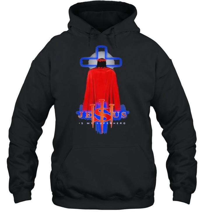 Jesus Is My Superhero  Unisex Hoodie