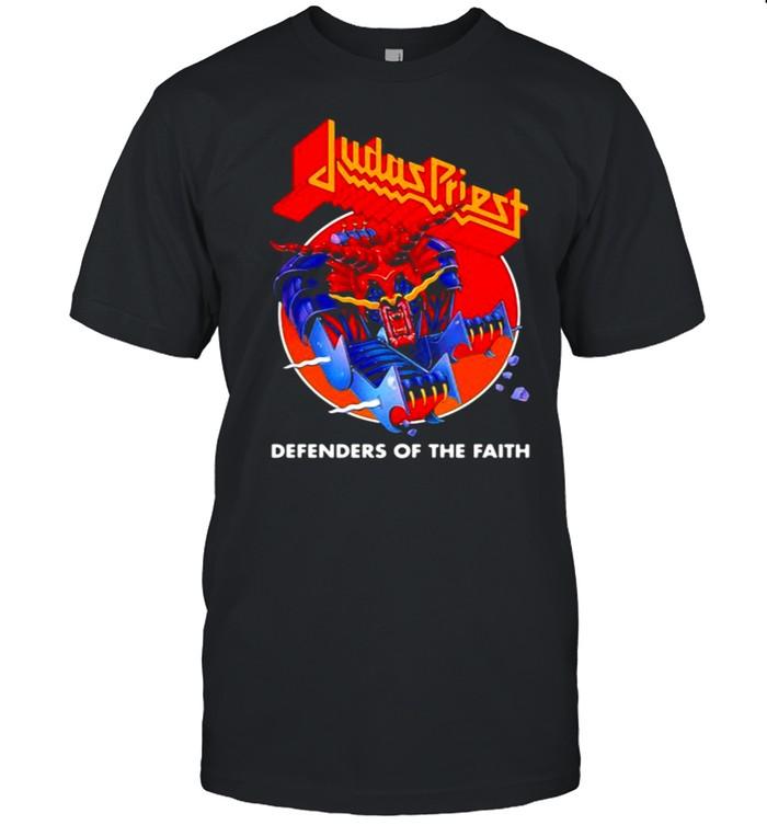 Judas priest defenders of the faith blood moon shirt