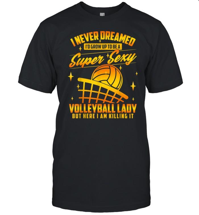 Volleyball Lady shirt