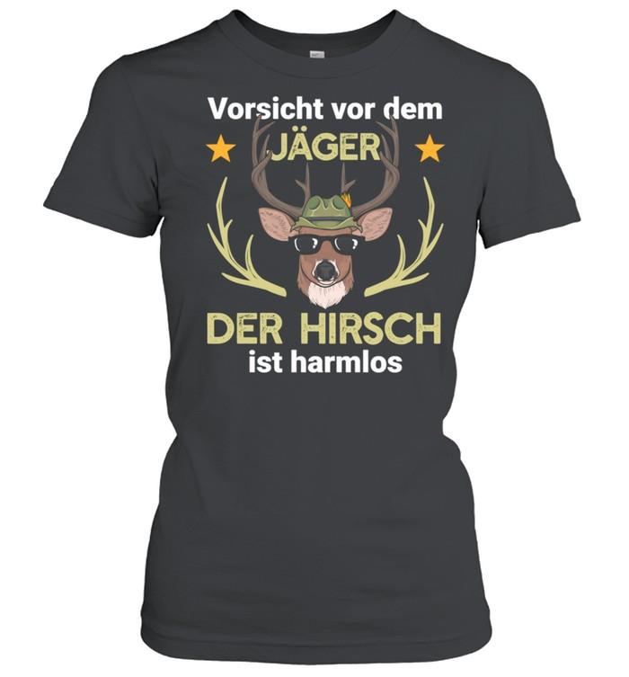 Hirsch Jäger Jagd Wald shirt Classic Women's T-shirt