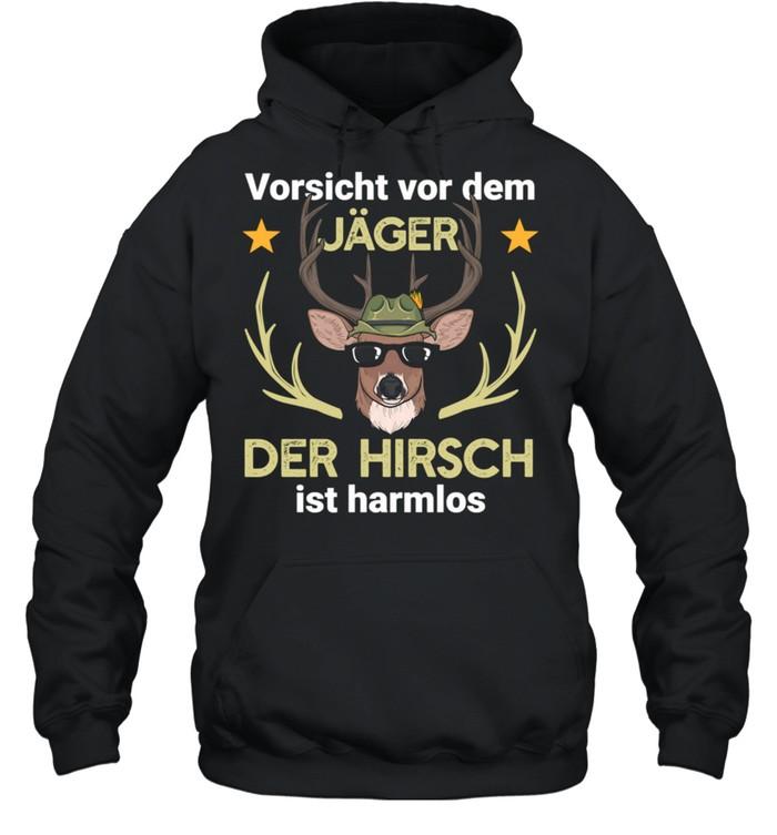 Hirsch Jäger Jagd Wald shirt Unisex Hoodie