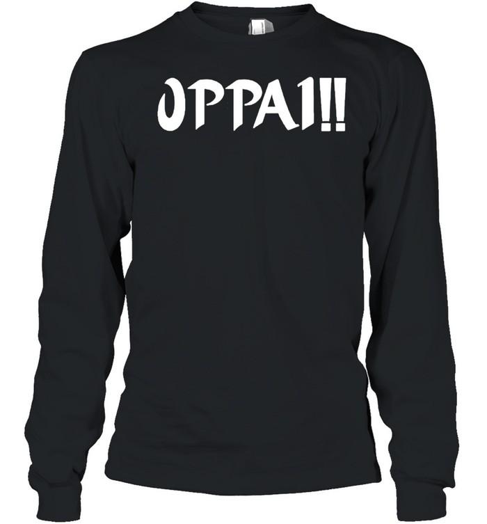 Oppa 1 shirt Long Sleeved T-shirt