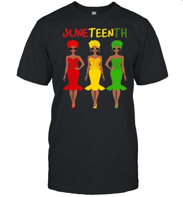 Juneteenth melanin black queen shirt