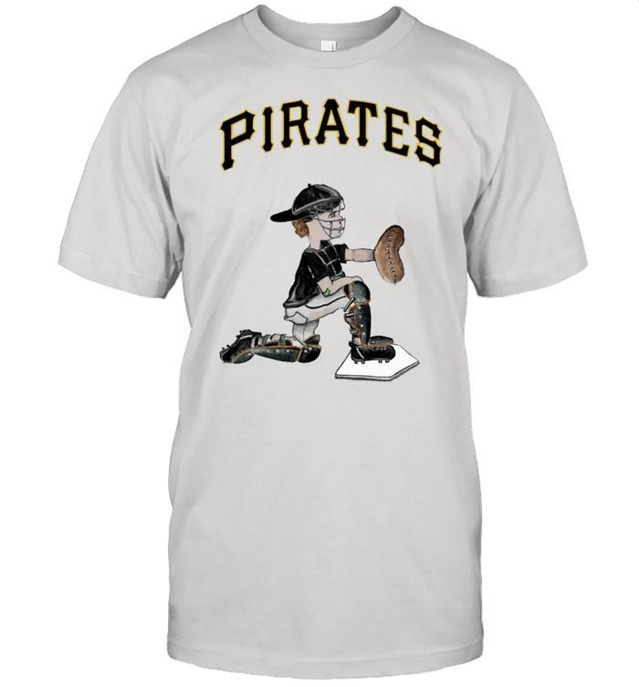 Pittsburgh Pirates Caleb the Catcher shirt Classic Men's T-shirt