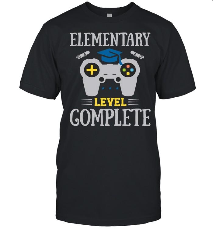 Elementary Level Complete Gamer Boy Graduation  Classic Men's T-shirt