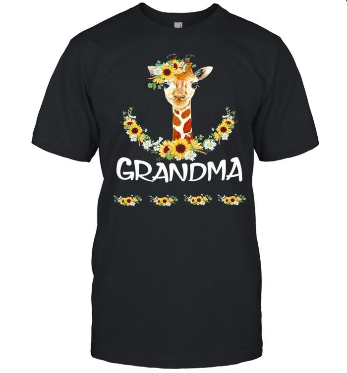 Giraffe Grandma Anna David Lucas Emma  Classic Men's T-shirt