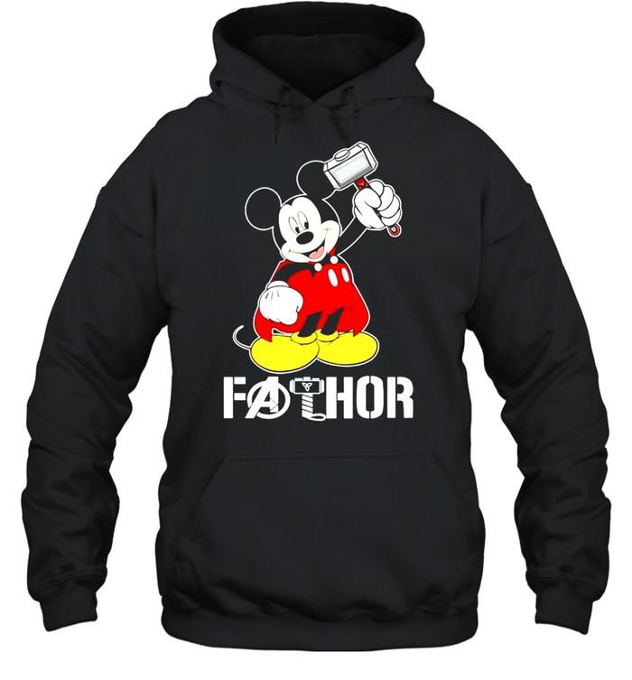 Mickey Thor Fathor shirt Unisex Hoodie