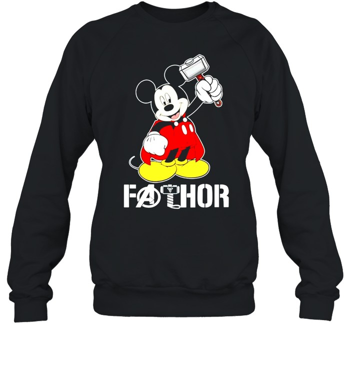 Mickey Thor Fathor shirt Unisex Sweatshirt