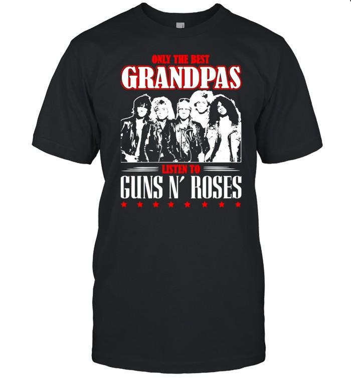 Only the best grandpas listen to Guns N'Roses shirt
