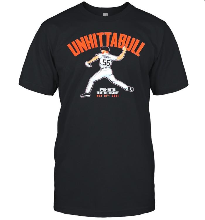 UNHITTABULL 8th no hitter in detroit history shirt