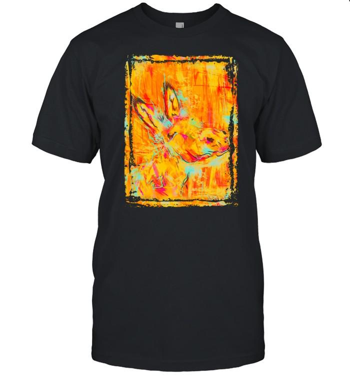 Donkey painting shirt