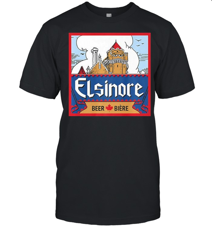 Elsinore craft beer brewing graphic shirt