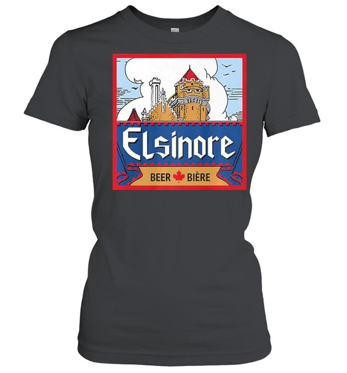Elsinore craft beer brewing graphic shirt Classic Women's T-shirt