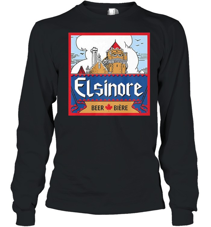 Elsinore craft beer brewing graphic shirt Long Sleeved T-shirt
