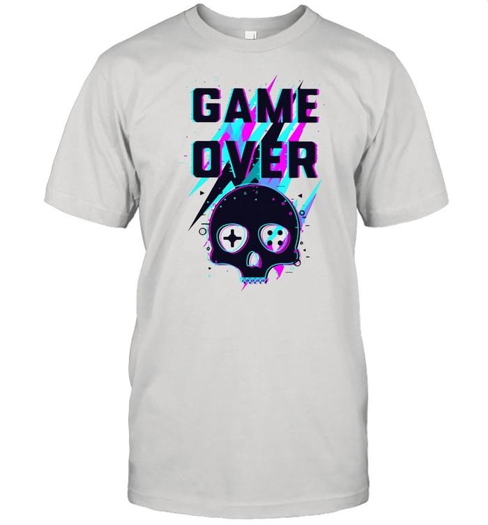 Skull Game Over T-shirt