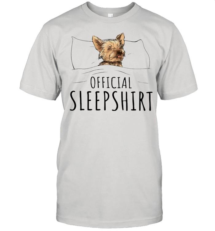 Yorkshire Terrier Official sleepshirt shirt