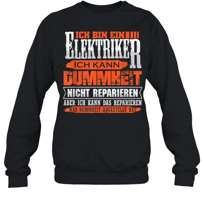 Elektriker und Repariere das shirt Unisex Sweatshirt