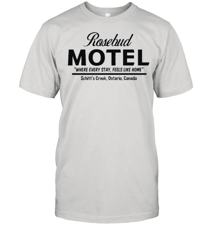 Rosebud Motel Handcrafted with Care Rose Apothecary shirt