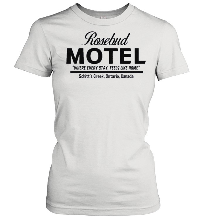 Rosebud Motel Handcrafted with Care Rose Apothecary shirt Classic Women's T-shirt