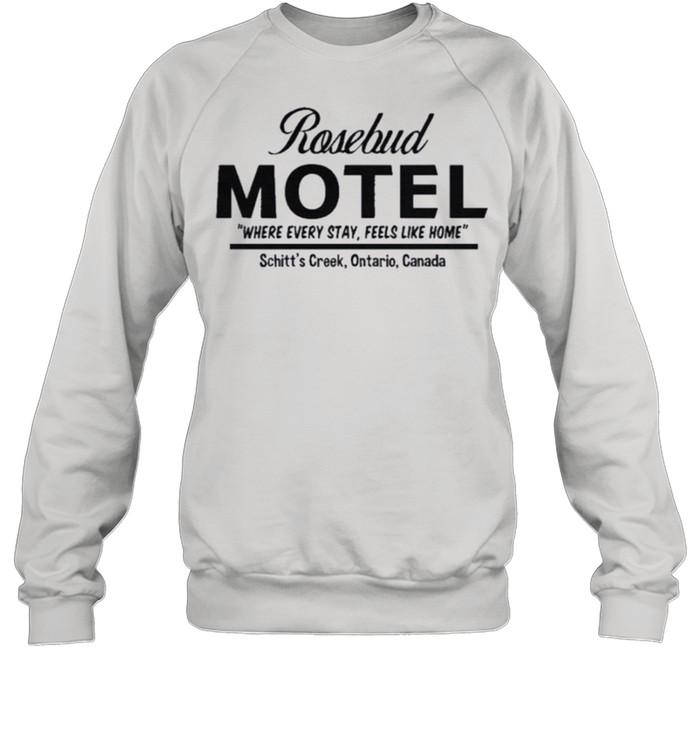 Rosebud Motel Handcrafted with Care Rose Apothecary shirt Unisex Sweatshirt