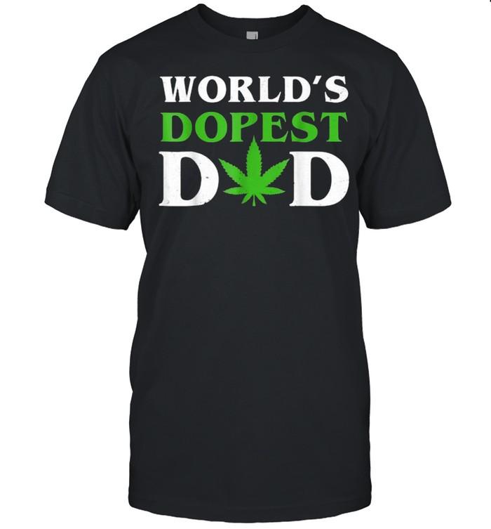World's Dopest Dad Cannabis T-Shirt