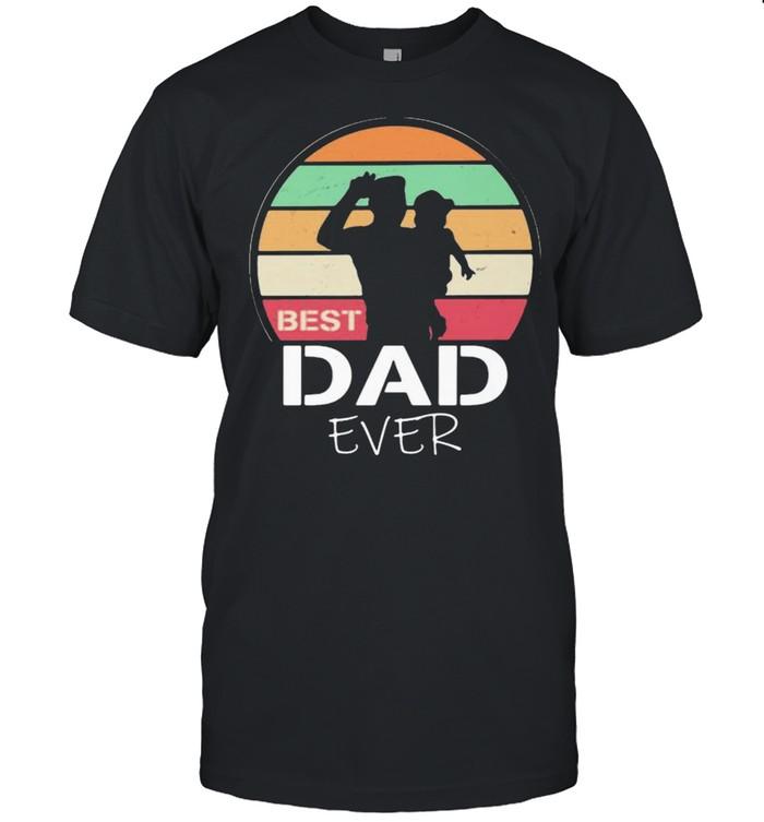 Best Dad Ever Vintage Shirt