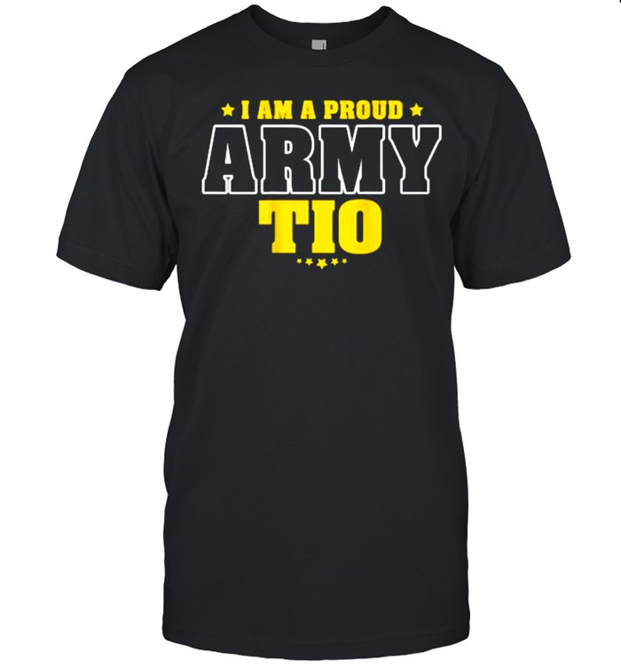 I Am A Proud Army Tio Star T- Classic Men's T-shirt