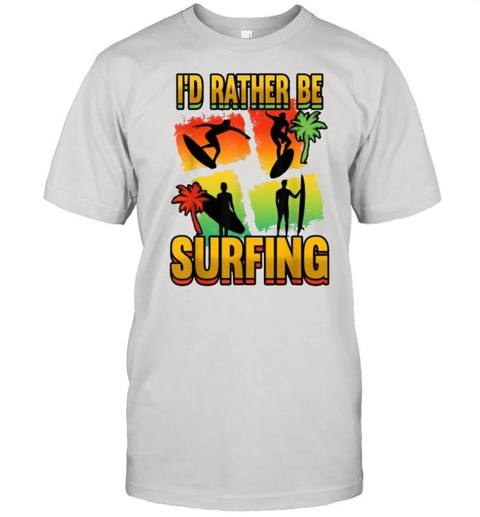 I'd Rather Be Surfing Kitesurfing T-Shirt