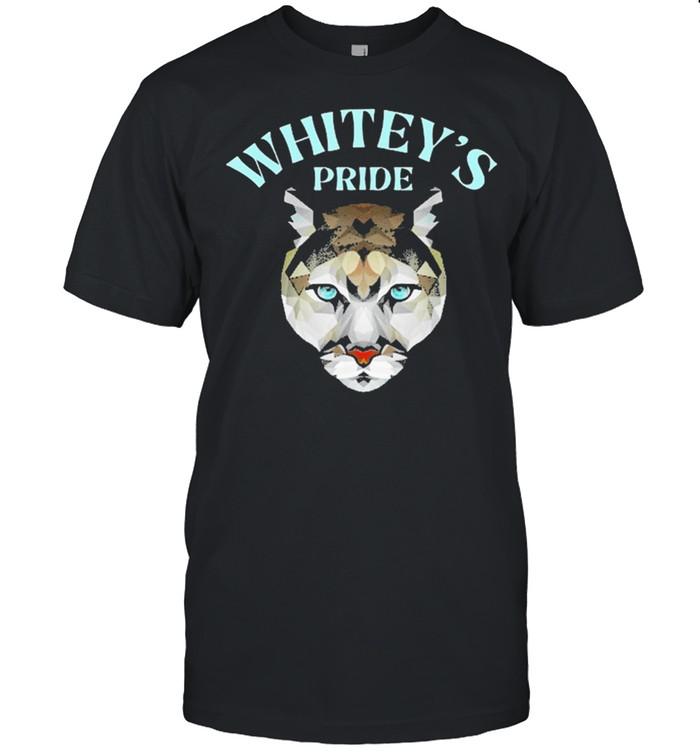 Cat Whiteys pride whitey cougar crush shirt