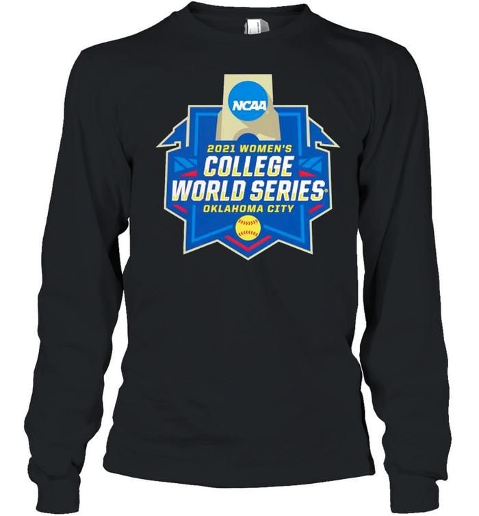 Oklahoma City 2021 NCAA Softball Womens College World Series shirt Long Sleeved T-shirt